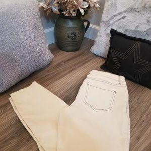 Lauren Conrad size 2 skinny crop pants
